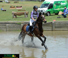 Competing in the EvA60 Junior class, Ashleigh Aitken and Jemima her 14 year old stock horse came away with third place in their second ODE together.