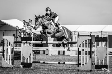 Jasmine Dennison and Nicolossi having a work out for the Australian Champs next week in the Open 140cm finishing a very acceptable 5th with a time of 73.82.