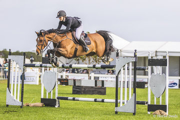 Maddison Stephen and Yalambi's Grazi just a smidge slow in the open 140cm taking 1 time penalty to finish out of the money in 15th position.