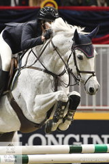 Twenty five year old US rider, Catherine Tryee really impressed to take third place in the Big Ben International Challenge riding her Dutch bred gelding, 'Bokai' by Up To Date.