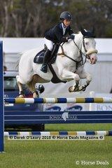 "Dakota Pinton rode ""I Am Sparticus"" in the Australian Childrens Championship"
