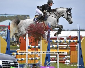 """Olivia Hamood representing QLD rode """"Knock Out 111"""" to place 4th in the Australian Future Stars Championship"""