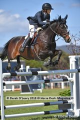 Chloe Hughes representing Queensland rode Watermark Farm Oz in the Australian Future Stars Championship