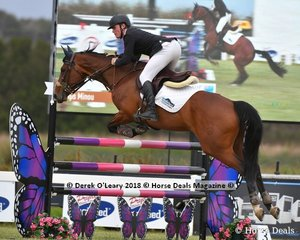 """Cameron Moffatt from QLD rode """"HPS Minou"""" to take 9th place in the Australian Junior Championship"""