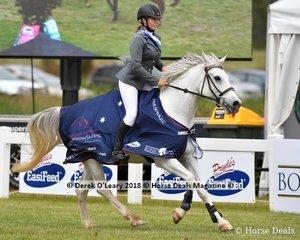 """Ivory Series Open Champion Chelsea Ubrihien from NSW riding """"Zarzu"""""""