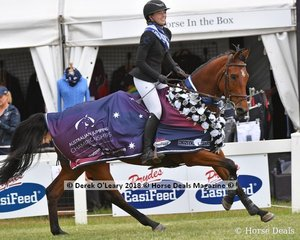 Australian Junior Champion, Madeline Sinderberry from NSW riding JT Valentina