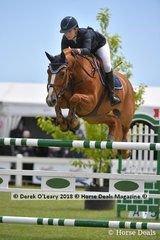 """Jessie O'connell from NSW rode """"Cassis Z Ten Halven"""" to place 7th in the Australian Young Rider Championship"""