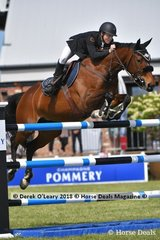 """Aaron Hadlow from NSW rode """"Vahlinvader"""" in the Australian Senior Championship"""