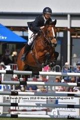 "Former Australian Champion David Cameron from NSW rode ""RR Dyranta"" in the Australian Senior Championship"