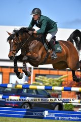 """Chris Chugg from NSW rode """"PSS Levilensky"""" to place 5th in the Australian Senior Championship"""