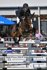 "Tom Mcdermott from NSW rode ""Elegance De La Charmille"" to take out 2nd place in the Australian Senior Championship"