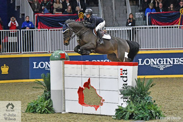 Twenty six year old Ali Ramsay riding, 'Hermelien VD Hooghoeve' by Tangelo VD Zuuthoeve was the best of the Canadian riders and took third place in the $205,000 Longines FEI Jumping World Cup Toronto. Trained by former Canadian international, Jill Henselwood, Ali jumped two super clear rounds. Interestingly , only the five first round clears (of 21) went against the clock