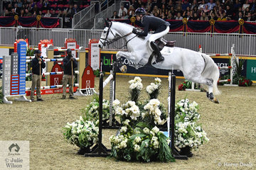 Devin Ryan was second in the 2018 World Cup Final and with 'Eddie Blue' a member of the USA WEG Gold Medal team. They jumped two beautiful rounds to take second place in the  $205,000 Longines FEI Jumping World Cup Toronto.