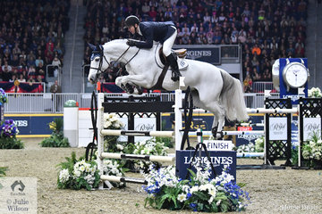 The trip to Canada was worth it alone just to see McLain Ward's winning jump off round in the $205,000 Longines FEI Jumping World Cup Toronto. It was as close to riding perfection as it gets. He rode the Double H Farm nomination, 'HH Gigi's Girl' by Vingino to claim the $67,000 first prize. This was the ninth time McLain has won the Toronto Grand Prix beginning in 2000.
