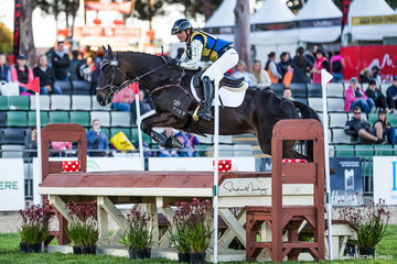 Sophie Fox and 'Mr Pig' win the Australian Open Exhibition Eventing