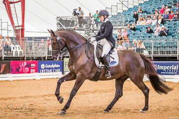 Rozzie Ryan and 'Jarrah R' place third in the CDI-W with a score of 68.304%
