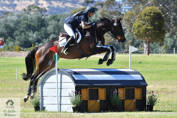 Jessica Tainish posted a good clear round, both jumping and time riding her NZ bred Thoroughbred, 'Punching In A Dream' to move from 20th place after the dressage to eighth place heading in to the final jumping phase of the Horseland CCI 2* tomorrow.