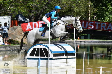 Jess Somerfield rode her own and  L and R Kelso's, Royal Hit gelding, 'Lakeview Albion' to add just time penalties for provisional 14th place in the  Horseland CCI 2*.