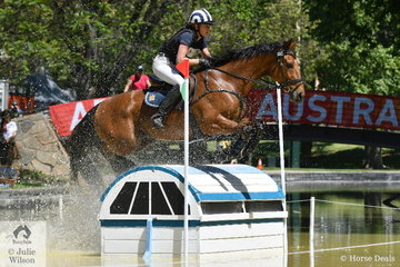 Victorian Young Rider, Sophia Landy posted the fastest  Horseland CCI 2* cross country run riding her Thoroughbred gelding, 'Humble Glory' by Bernadini to move from 26th to ninth place.