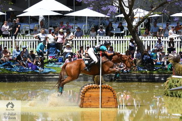 Victorian rider, Kirilee Hosier posted a good   Horseland CCI 2* cross country run riding her Thoroughbred gelding, 'Regal Red Jasper' to hold  tenth place heading in to the final jumping phase tomorrow.