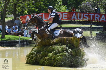 Victorian professional, Andrew Cooper did not have the best of time during his cross country run aboard , 'Hunter's Hill', but he survived and heads in to the  Mitsubishi CCI4* final jumping phase in 11th pace.