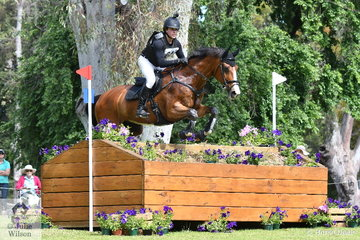Victorian rider, Callum Buczak jumped the fastest  RM Williams CIC 3* cross country round for the addition of just 1.2 time penalties riding his , 'Matavia Cheval' by Champion FP. They hold provisional second place.