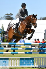 South Australian Young Rider, Steph Hann rode her Thoroughbred, 'True Celebre' to ninth place in the Horseland CCi 2*.