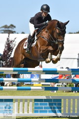 Emma Mason just lowered one fence riding her own and David Wright's talented AEA Metallic mare, 'Aramatai Fox' to take third place in the  Horseland CCi 2*.
