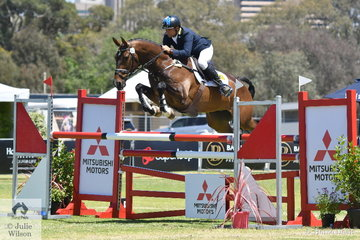 Shane Rose was at it again, this time riding his own and Soigne Jackson's, 'Ultimate Velocity' by Warrego Collateral Damage to win the RM Williams CIC 3* on 46.10 penalties.