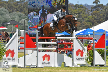 National  Showjumping Champion Young Rider, Erin Buswell rode her wonderful, 'Quero Quero' to fifth place in the Thomas Foods International CSI*-World Cup Qualifier.