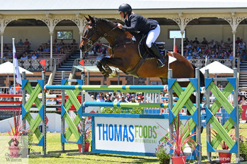 From Mt Gambier in South Australia, Kristy Bruhn rode her talented Irish bred, 'Jack' to take second place in the Thomas Foods International CSI*-World Cup Qualifier