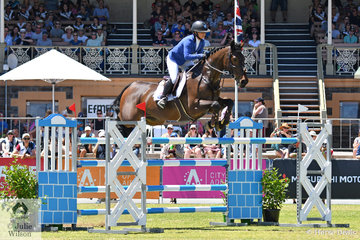 Hayley Morris from Queensland rode her imported, 'Miss Money Penny' to take eighth place in the Thomas Foods International CSI*-World Cup Qualifier.