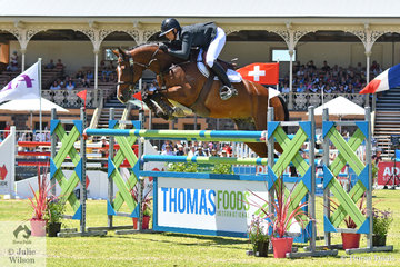Talented WA rider, Caitlin Bolger rode her, 'Oaks Vendetta' by Vivant to take fourth place in the Thomas Foods International CSI*-World Cup Qualifier.