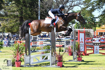 NSW rider, Emma Bishop made quite an impression at her first Four Star event riding the talented, 'CP Issey Miyake'. The mare by Staccato out of the successful mare, Isabella Rosselini finished in eighth place in the Mitsubishi CCI Four Star.