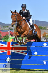 """""""When the going gets tough, the Thoroughbreds get going"""". Hazel Shannon created history today by winning the Adelaide CCI 4 Star twice with the same horse. She is pictured aboard Terry and Ginette Snow's, Willinga Park Clifford' by Passing Shot. They won the Four Star class in 2016 and today claimed the 2018 Mitsubishi CCI Four Star event."""