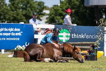 Brumby Challenge Final. Flinders Greentree and VBA Brandy