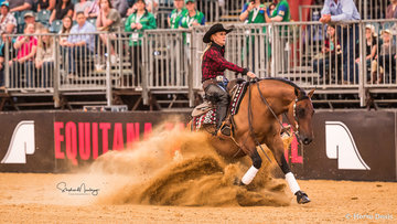 Angie Wicks and 'Q Vista Peppa Revolution' place equal third on 139pts