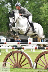 Yarra Valley rider, James Harvey jumped two super rounds aboard his, 'Patangas Hiccup' to take second place in the Australian Quality Pet Foods Future Stars, the feature class at the Sale and District Showjumping Club World Cup Show on Saturday.