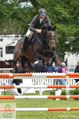 Victorian veterinarian and dedicated jumping rider, Adam Johnston jumped a great double clear aboard his, 'Up' to take fourth place in the Australian Quality Pet Foods Future Stars class.
