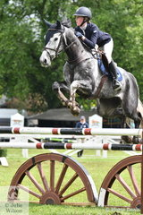 Young Rider, Georgia Price posted a four fault round riding 'Batman Xtreme' in the Australian Quality Pet Foods Future Stars.