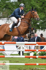 James Richards rode 'Foreigh Secret' in the Australian Quality Pet Foods Future Stars  class.