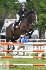 Victorian rider, Tesse Cook jumped a good first round clear aboard her, 'Rimfire Park Vogue'.
