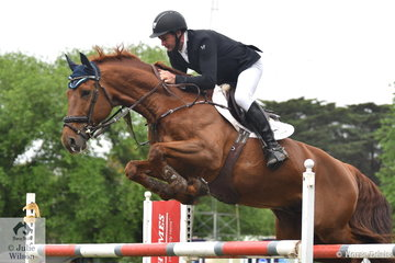 Brook Dobbin rode Wendy Keddell's talented, 'Carrado MVNZ' to post two impressive clear rounds and take sixth place in the Wellington Livestock Mini Prix.