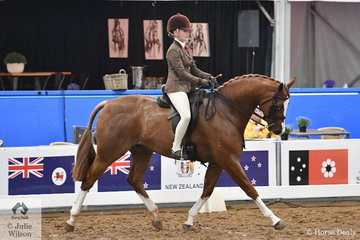 Queensland had a strong hold on the Child's Small Show Hunter Hack Championship, with Isabella Cross riding Maddysen Sears', 'Welt's Legacy' to take out the Runner Up award.
