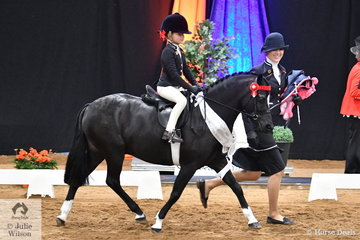 Representing South Australia, Kate Halliday led her own and Claire Schaefer's, 'Dalbrae Vegas' with Abbi Schaefer riding. They took third place in the 2018 National Leading Rein Pony Championship and Abbi claimed the Molly Lord Trophy for Best Presented Leading Rein Rider.