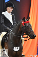 Harry Beckel representing South Australia placed third in the Intermediate Rider 12-14 Years Runner Up award.