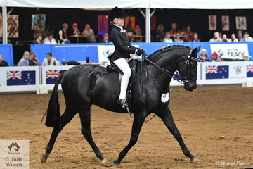 Tia Rose McKenzie from NSW claimed the 2018 National Junior Rider Under 12 Years Championship.