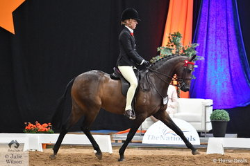 Regular Nationals competitor, Margot Haynes rode  Chris and Shelley Pollard's, 'Carlingford Park Honour High' to claim the National Large Pony Runner Up award.