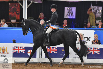 Riley Kent has impressed with his riding for many years and today claimed the 2018 Rider 18-25 Years National Championship for Queensland.