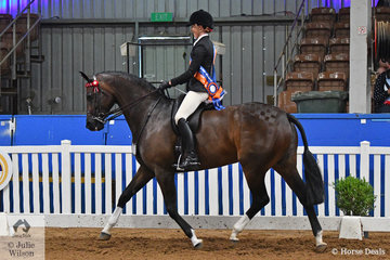 No stranger to National awards, Abby Heffer riding for Victoria was declared Runner Up Rider 18-25 Years.